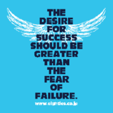 THE DESIRE FOR SUCCESS