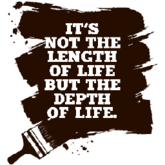 IT'S NOT THE LENGTH OF LIFE